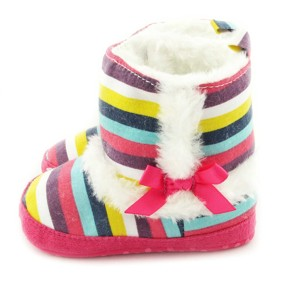Утепленные пинетки для девочки Berni (код товара: 6548): купить в Berni