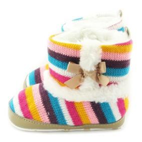 Утепленные пинетки для девочки Berni (код товара: 6549): купить в Berni