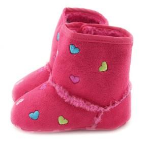 Утепленные пинетки для девочки Berni (код товара: 6556): купить в Berni
