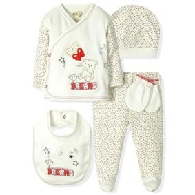 Комплект 5 в 1 для новорожденного  Bebitof (код товара: 6860): купить в Berni