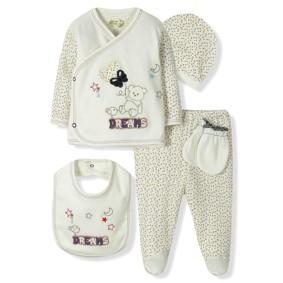 Комплект 5 в 1 для новорожденного  Bebitof (код товара: 6861): купить в Berni