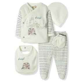 Комплект 5 в 1 для новорожденного  Bebitof  (код товара: 6866): купить в Berni