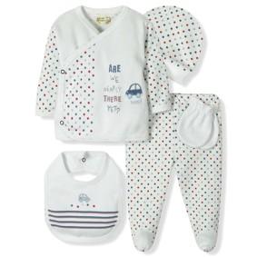 Комплект 5 в 1 для новорожденного мальчика Bebitof (код товара: 6869): купить в Berni