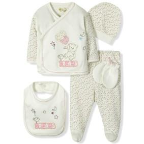 Комплект 5 в 1 для новорожденной девочки  Bebitof оптом (код товара: 6863): купить в Berni