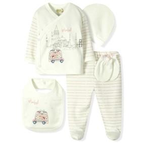 Комплект 5 в 1 для новорожденной девочки  Bebitof (код товара: 6864): купить в Berni