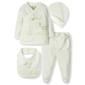 Комплект 5 в 1 для новорожденной девочки  Bebitof оптом (код товара: 6867): купить в Berni