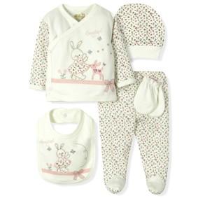 Комплект 5 в 1 для новорожденной девочки  Bebitof (код товара: 6872): купить в Berni