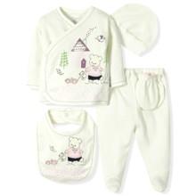 Комплект 5 в 1 для новорожденной девочки  Bebitof (код товара: 6875)