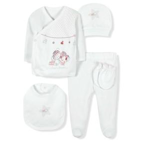 Комплект 10 в 1 для новорожденной девочки Bebitof оптом (код товара: 6959): купить в Berni