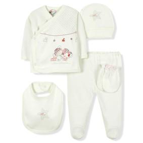 Комплект 10 в 1 для новорожденной девочки Bebitof оптом (код товара: 6960): купить в Berni