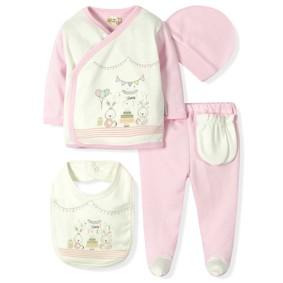 Комплект 5 в 1 для новорожденной девочки  Bebitof  (код товара: 6918): купить в Berni