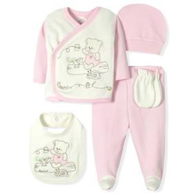 Комплект 10 в 1 для новорожденной девочки Bebitof оптом (код товара: 7003): купить в Berni