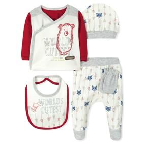 Комплект 5 в 1 для новорожденного (код товара: 7395): купить в Berni