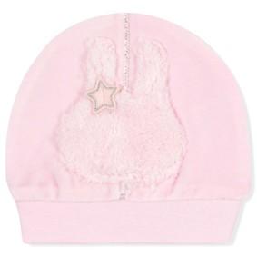 Велюровая шапка для новорожденной девочки (код товара: 7316): купить в Berni