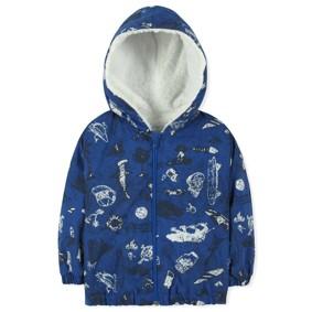 Куртка-ветровка утепленная на флисе для мальчика (код товара: 8385): купить в Berni