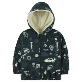 Куртка-ветровка утепленная на флисе для мальчика (код товара: 8386): купить в Berni