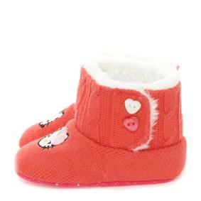 Утепленные пинетки для девочки (код товара: 8634): купить в Berni