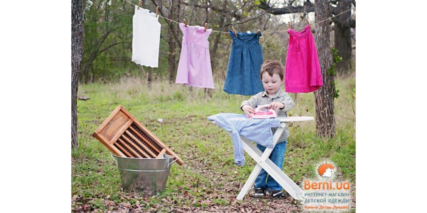 Как научить ребенка ухаживать за одеждой?
