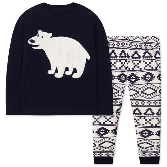 Пижама Белый мишка Wibbly pigbaby (код товара  47964) - купить за 317 грн.   3592e9a0c8aa3